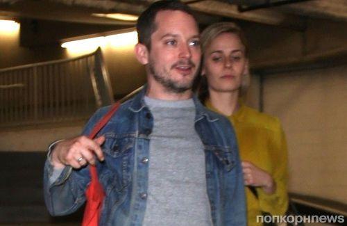 Редкий совместный выход: Элайджу Вуда и его девушку сфотографировали во время свидания