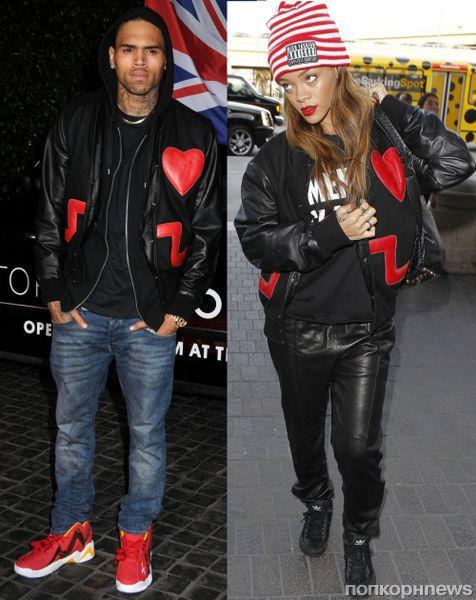 Fashion battle: Крис Браун и Рианна