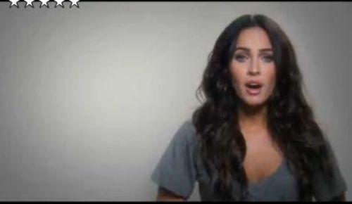Необычное промо-видео от Меган Фокс
