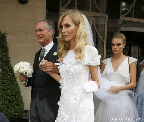 Поппи Делевинь вышла замуж