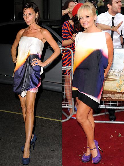 Fashion battle: Виктория Бэкхем и Эмма Бантон