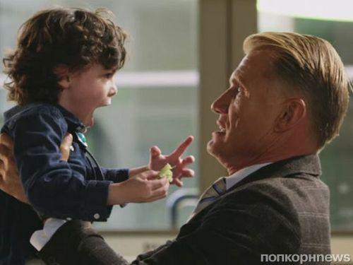 Ветеран боевиков Дольф Лундгрен воюет с детишками в трейлере «Детсадовского полицейского 2»