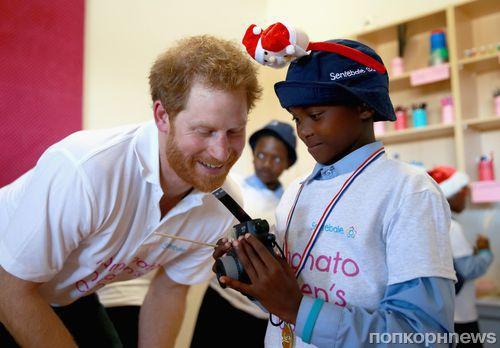 Принц Гарри открыл детский центр в Африке