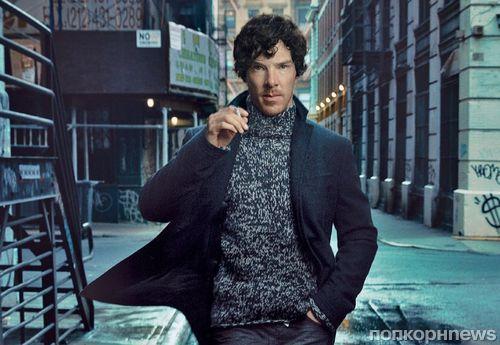 Бенедикт Камбербэтч в журнале Vogue. Сентябрь 2013