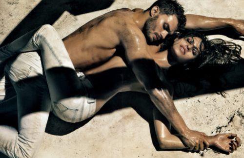 Ева Мендес и Джейми Дорнан для Calvin Klein Jeans. Весна/Лето 2010
