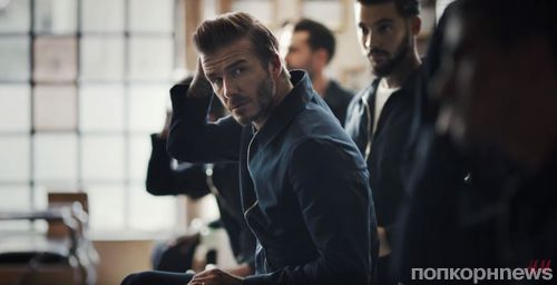 Видео: Дэвид Бекхэм в весенней рекламной кампании H&M
