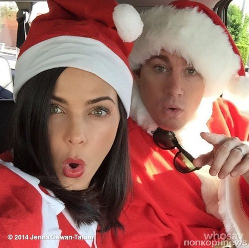 Звезды в социальных сетях: Келли Осборн смотрит кино, а Алессандра Амбросио в компании Санта-Клаусов