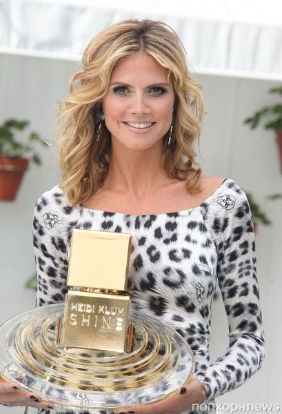 Хайди Клум получила награду за лучший аромат для женщин