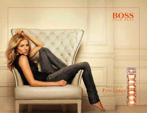 Сиенна Миллер в рекламе Hugo Boss Orange