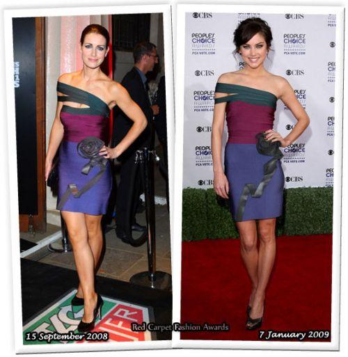Fashion battle: Кристи Галлахер и Джессика Строуп