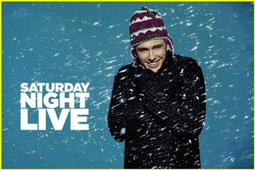 Промо-фото Джеймса Франко для SNL