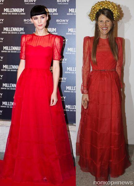 Fashion battle: Руни Мара и Анна Делло Руссо