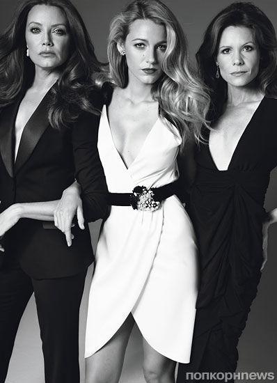 Знаменитые сестры в журнале W. Декабрь 2011