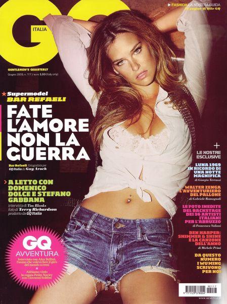 Бар Рафаели в журнале GQ. Июнь 2009