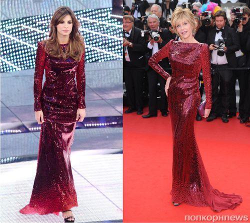 Fashion Battle: Элизабетта Каналис и Джейн Фонда
