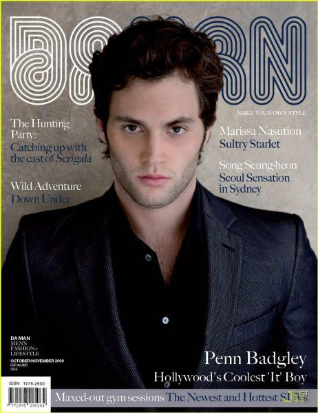 Пенн Бэдгли в журнале Da Man. Ноябрь 2009