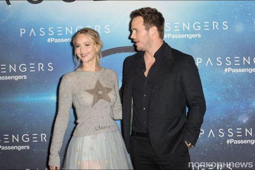 Крис Прэтт считает Дженнифер Лоуренс одной из лучших актрис в мире