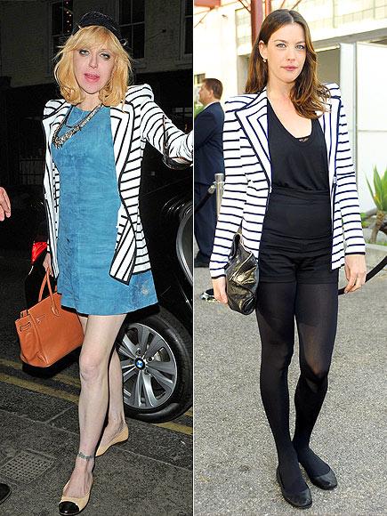 Fashion battle: Кортни Лав и Лив Тайлер