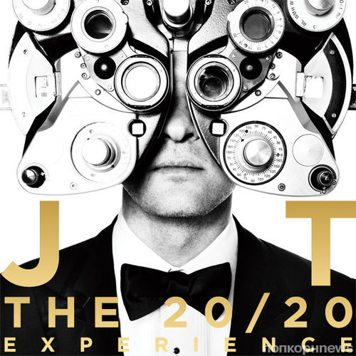 Обложка нового альбома Джастина Тимберлейка
