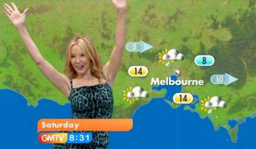 Прогноз погоды от Кайли Миноуг