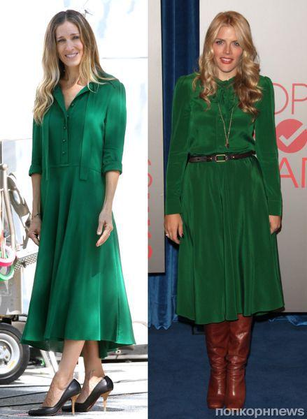 Fashion battle: Сара Джессика Паркер и Баси Филипс