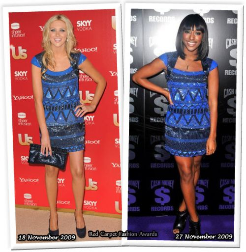 Fashion battle: Стефани Пратт и Александра Бёрк