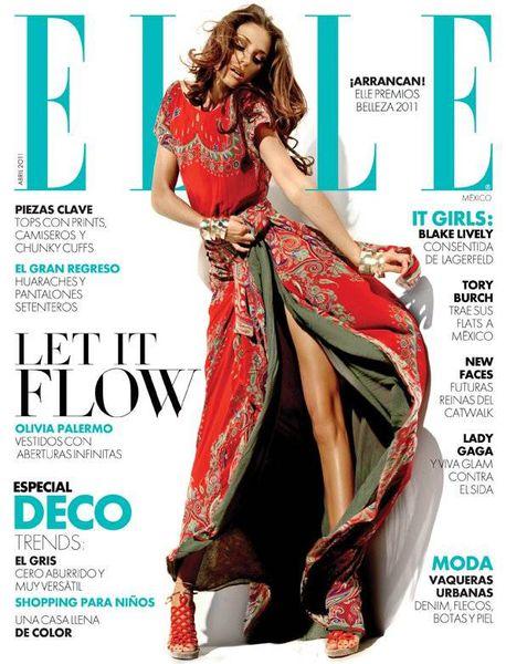 Оливия Палермо в журнале Elle Mexico. Апрель 2011