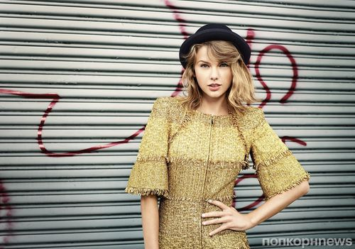 Тейлор Свифт в журнале Lucky. Декабрь / январь 2014-2015