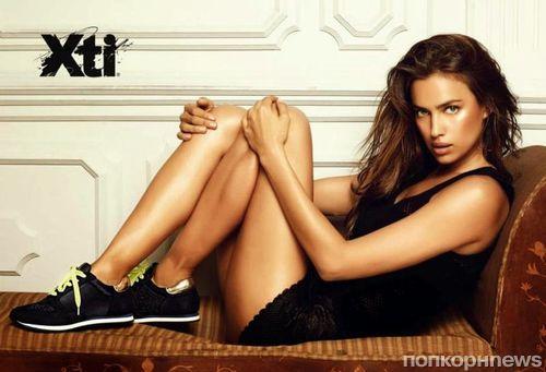 Ирина Шейк в новой рекламной кампании XTI. Осень 2014