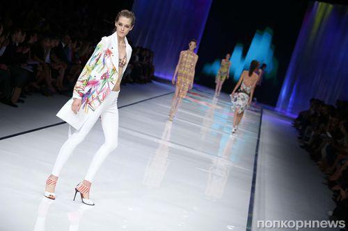 Модный показ новой коллекции Just Cavalli. Весна / лето 2014