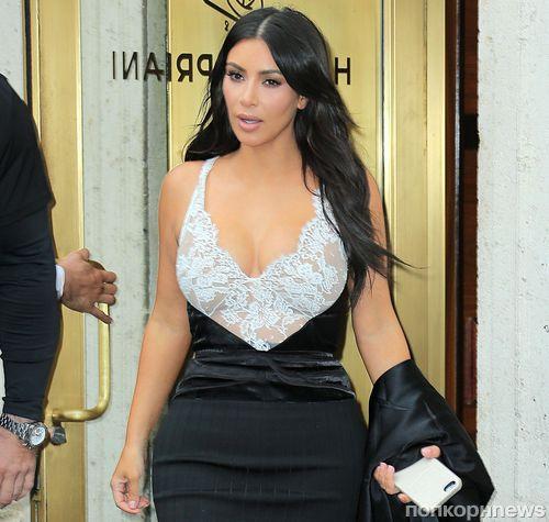 Ким Кардашьян рассказала о похудении после родов