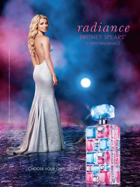 Бритни Спирс в рекламе духов Radiance