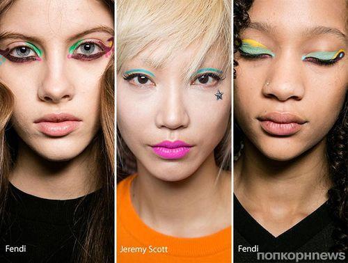 Модные тенденции макияжа осень-зима 2016-2017: фото