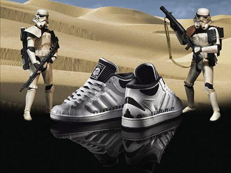 Реклама кроссовок Adidas «Звездные войны»