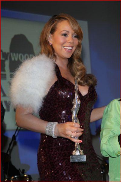 Мэрайя Кери получила награду итальянского кинофестиваля