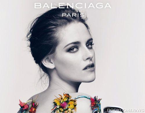 Обнаженная Кристен Стюарт в рекламной кампании аромата Balenciaga Florabotanica: первый взгляд