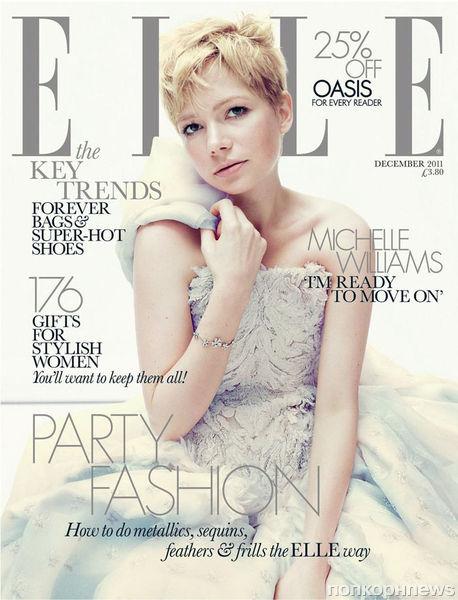 Мишель Уильямс в журнале Elle UK. Декабрь 2011