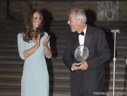 Кейт Миддлтон на церемонии Wildlife Photographer of The Year 2014