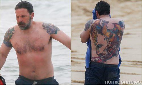 «Это кризис среднего возраста»: Бена Аффлека раскритиковали за татуировку