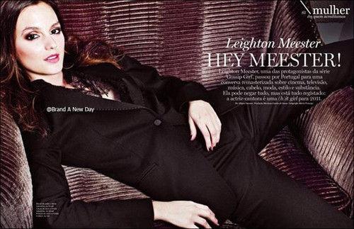 Лейтон Мистер в журнале Lux Woman Португалия. Апрель 2011