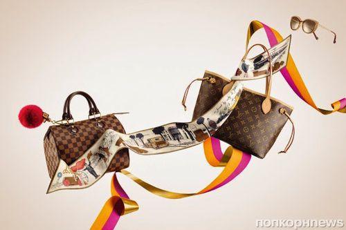 Праздничная коллекция аксессуаров Louis Vuitton Holiday 2014