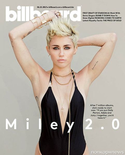 Майли Сайрус в журнале  Billboard. Июнь 2013