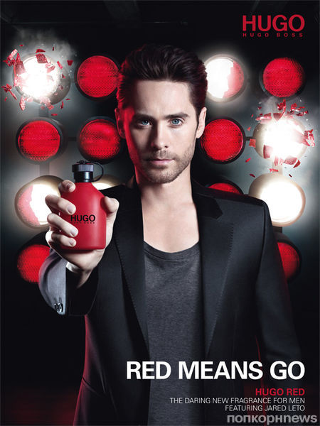 Видео: Джаред Лето в рекламе аромата Hugo Boss Red