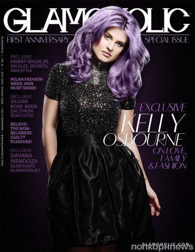 Келли Осборн в журнале Glamoholic. Июль 2012