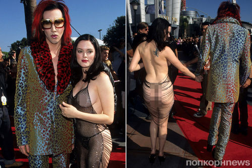 Роуз МакГоуэн назвала свой знаменитый «голый» выход на MTV VMA 1998 протестом против Вайнштейна