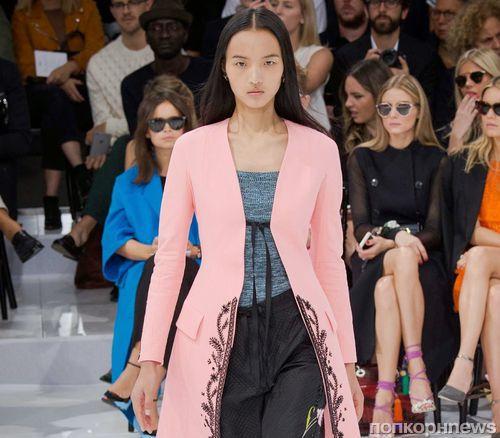 Модный показ новой коллекции Christian Dior. Весна / лето 2015