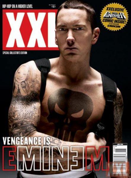 Eminem в журнале XXL. Июнь 2009
