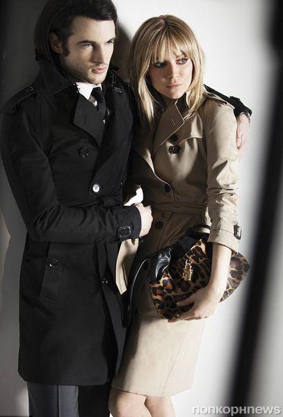 Сиенна Миллер и Том Старридж в рекламной кампании Burberry
