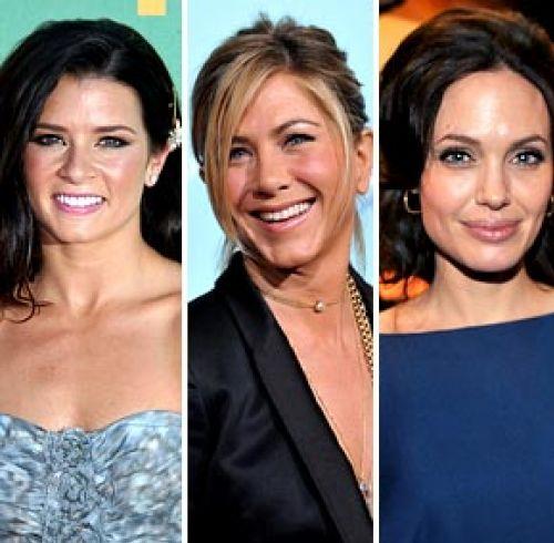 Даника Патрик хочет, чтобы ее сыграла Анджелина Джоли, а не Дженнифер Энистон