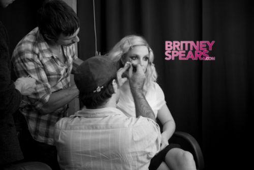 Бритни Спирс: подготовка к фотосессии